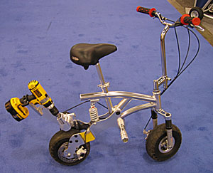 Drill Powered Mini Bike