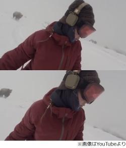 【話題】長野でスノボ女性の自撮り映像に追いかけてくるクマの姿が 「オーマイガッ!ビデオ撮ったらクマに追いかけられてた! 」 [無断転載禁止]©2ch.netYouTube動画>10本 ->画像>22枚